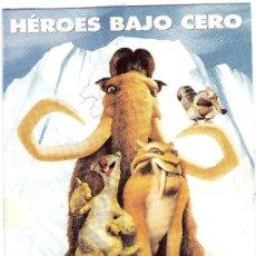 Cine: 958- POSTAL DEL FLM: LA EDAD DEL HIELO -ICE AGE. Lote 25864203