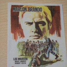 Cine: ¡SALVAJE! (MARLON BRANDO / LEE MARVIN). Lote 127816380