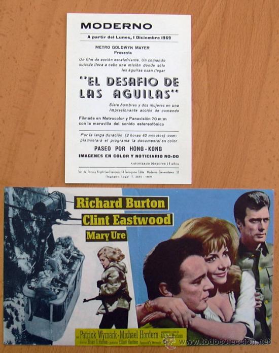 Cine: El desafio de las águilas - 2 programas diferentes - Con Publicidad - Foto 2 - 25948393
