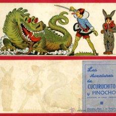 Cine: LAS AVENTURAS DE CUCURUCHITO Y PINOCHO, ORIGINAL, SIN CINE , ALARGADO, PMD 741. Lote 191599970