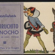Cine: P-5171- LAS AVENTURAS DE CUCURUCHITO Y PINOCHO (DOBLE) (Nº 1 DE 5) (CARLOS AMADOR - PACO ASTOL). Lote 30439096
