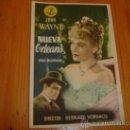 Cine: NUEVA ORLEANS. JOHN WAYNE 1947 CINE MAIQUEZ CARTAGENA. Lote 27424526