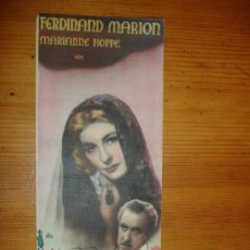 Cine: ROMANZA EN TONO MENOR CON F. MARION Y M. HOPPE. CINE LA RIBERA SAN JAVIER MURCIA. Lote 27614663