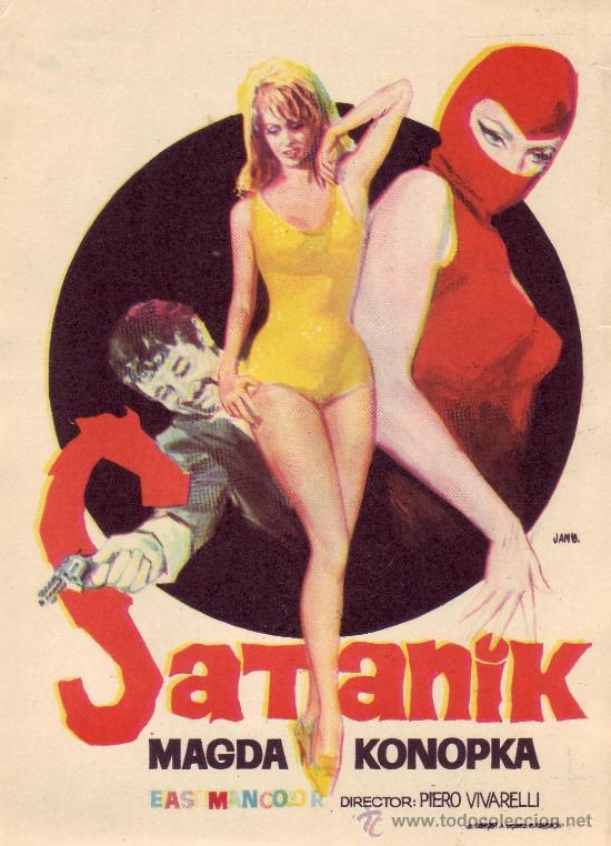 SATANIK (Cine - Folletos de Mano - Suspense)