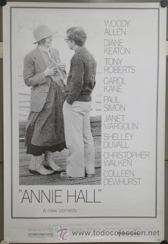 E699 ANNIE HALL WOODY ALLEN DIANE KEATON POSTER 70X100 (Cine - Folletos de Mano - Comedia)
