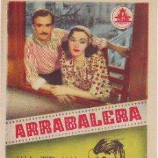 Cine: ARRABALERA. Lote 27814279