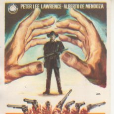 Cine: MANOS TORPES. Lote 32011491