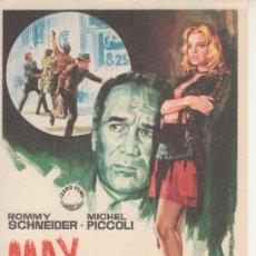 Cine: MAX Y LOS CHATARREROS. ROMMY SCHNEIDER. Lote 27820175