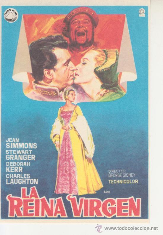 LA REINA VIRGEN (Cine - Folletos de Mano)