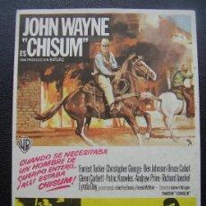 Cine: CHISUM, JOHN WAYNE. Lote 147522990