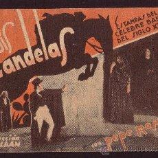 Cine: LUIS CANDELAS * CIRCA 1936 * PEPE ROMEU DIR. FERNANDO ROLDÁN. Lote 27919870