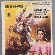 Foglietti di film di film antichi di cinema: EL DIABLO BLANCO. SENCILLO DE R FILMS. ¡IMPECABLE!. Lote 28121223