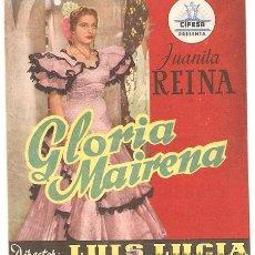 Cine: GLORIA MAIRENA. Lote 28105155