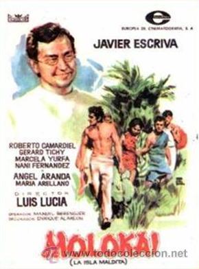MOLOKAI: LA ISLA MALDITA (PROGRAMA ORIGINAL) (Cine - Folletos de Mano - Clásico Español)