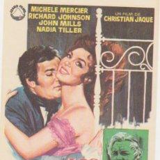 Cine: LOS AMORES DE LADY HAMILTON. SENCILLO DE IZARO FILMS. ¡IMPECABLE!. Lote 28287009