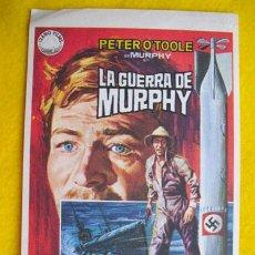 Cine: LA GUERRA DE MURPHY. DIBUJO JANO. PETER O'TOOKE, PHILIPPE NOIRET, SIAN PHILLIPS, …DIR PETER YATE. Lote 28373733