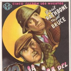Cine: LA CASA DEL MIEDO. Lote 28428842