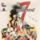 Cine: 7 MUJERES. Lote 28576525