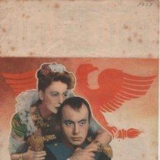Cine: PROGRAMA DE MANO PELICULA MARIA WALEWSKA (GRETA GARBO Y CHARLES BOYER) . Lote 28601794