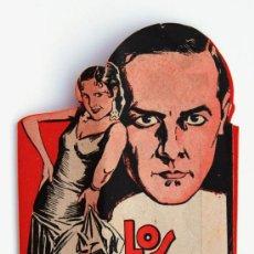 Cine: PROGRAMA DE MANO TROQUELADO LOS QUE DANZAN. 1930 . Lote 28635588