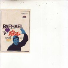 Cine: EL ANGEL - RAPHAEL. Lote 28650837