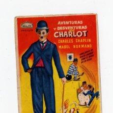 Cine: PROGRAMA AVENTURAS Y DESVENTURAS DE CHARLOT. Lote 28678684