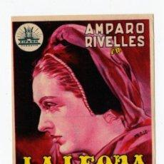 Cine: LA LEONA DE CASTILLA. Lote 28679191