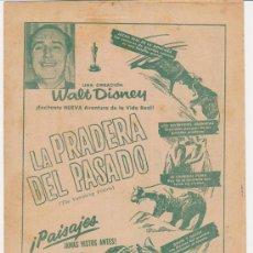 Cine: LA PRADERA DEL PASADO (LA PRADERA) DOBLE DE RKO RADIO (23X30) TEATRO CUBA - LA HABANA.. Lote 28710097