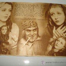 Cine: PROGRAMA MANO CINE ** LAS DOS HUERFANITAS ** CON RENEE SAINT. CYR Y ROSINE DEREAU 1934.. Lote 28823185