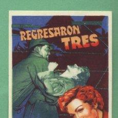 Cine: REGRESARON TRES - CLAUDETTE COLBERT - CINE MONTERROSA - REUS. Lote 28833333
