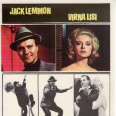 Cine: COMO MATAR A LA PROPIA ESPOSA. JACK LEMMON. VIRNA LISI.. Lote 28875763