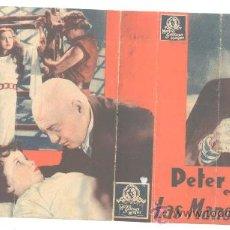 Cine: LAS MANOS DE ORLAC, PETER LORRE, DOBLE METRO 1936. Lote 28937300