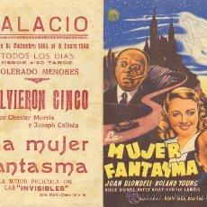 Cine: LA MUJER FANTASMA DOBLE.. Lote 29024300
