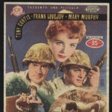 Cine: P-9339- MISION TEMERARIA (BEACHHEAD) TONY CURTIS - FRANK LOVEJOY - MARY MURPHY. Lote 18635430