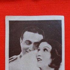 Cine: EL FAVORITO DE LA GUARDIA, VERSIÓN ALEMANA, CARTONCILLO 1932, EXCELENTE ESTADO PUBLI CIRCOL CÍNEMA. Lote 29167388