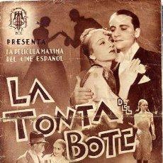 Cine: LA TONTA DEL BOTE / JOSITA HERNAN / RAFAEL DURAN (VER FOTOS). Lote 29219754
