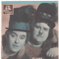 Cine: UN PAR DE GITANOS PROGRAMA DOBLE MGM STAN LAUREL OLIVER HARDY THELMA TODD. Lote 29241977