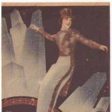 Cine: LA MELODIA DE BROADWAY 1936 PROGRAMA DOBLE MGM ROBERT TAYLOR ELEANOR POWELL JACK BENNY B. Lote 29255939