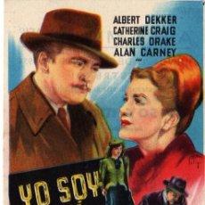 Cine: YO SOY MI ASESINO-SOLIGO- CON PUBLICIDAD- . Lote 29293695
