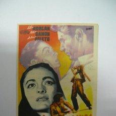 Cine: PROGRAMA FOLLETO DE MANO ORIGINAL - DUELO DE PASIONES - REV. CINEMA PALACIO. Lote 29345006