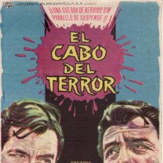 Cine: EL CABO DEL TERROR. GREGORY PECK ROBERT MITCHUM. Lote 131106527