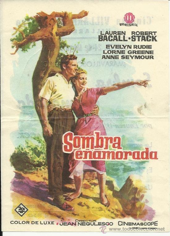 SOMBRA ENAMORADA CON PUBLICIDAD (Cine - Folletos de Mano - Comedia)