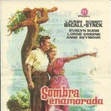 Cine: SOMBRA ENAMORADA CON PUBLICIDAD . Lote 29428613