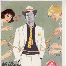 Cine: LA CAZA DEL HOMBRE. JEAN PAUL BELMONDO. Lote 29437812