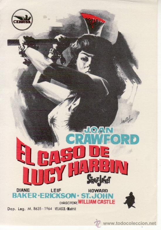 EL CASO DE LUCY HARBIN (Cine - Folletos de Mano - Aventura)