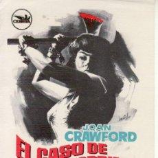 Cine: EL CASO DE LUCY HARBIN. Lote 29437832