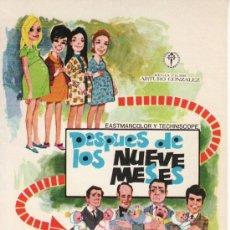 Cine: DESPUES DE LOS NUEVE MESES. Lote 29441290