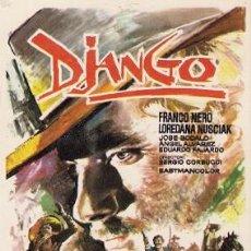 Cine: DJANGO- FRANCO NERO. Lote 29453750