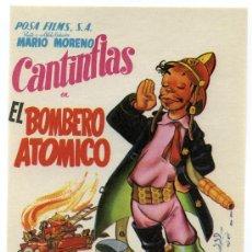 Cine: EL BOMBERO ATOMICO, CON MARIO MORENO, CANTINFLAS.. Lote 277299978