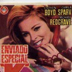 Cine: ENVIADO ESPECIAL K / STEPHEN BOYD-CAMILA SPARV (VAL GUEST 1967) PROGRAMA DE MANO. Lote 29502115